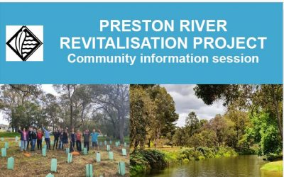 Preston River Revitalisation Project Information Session
