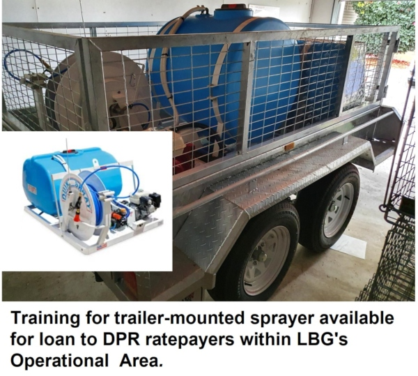 LBG Trailer-mounted Chemical Sprayer Training – with Focus on Blackberry Control in Shire of Capel